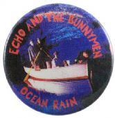 Echo and the Bunnymen - 'Ocean Rain' Button Badge